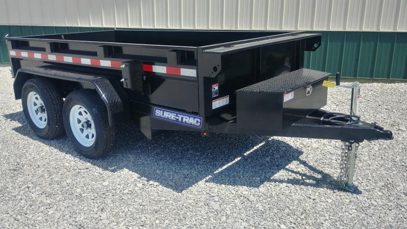 2019 Sure Trac 5x10 Dump 7k Single Ram