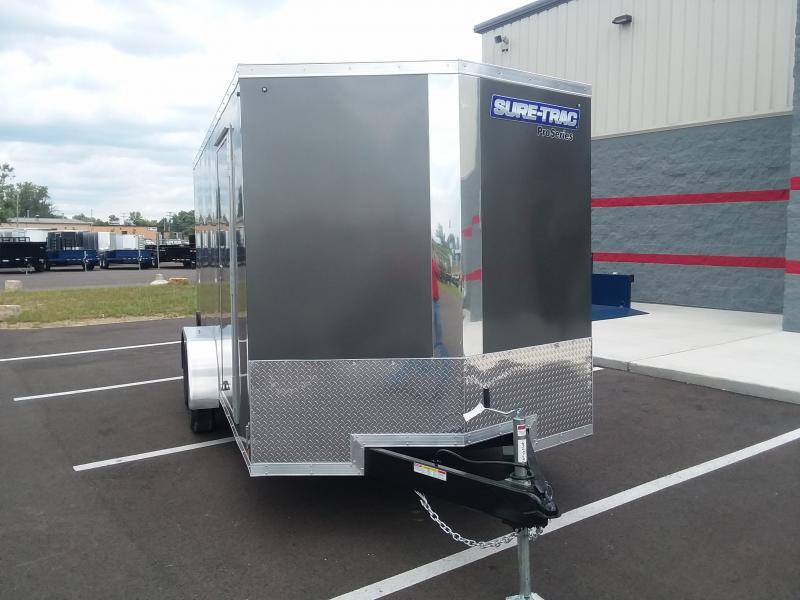 2020 Sure-trac 7'x16' Pro Series 10k Charcoal