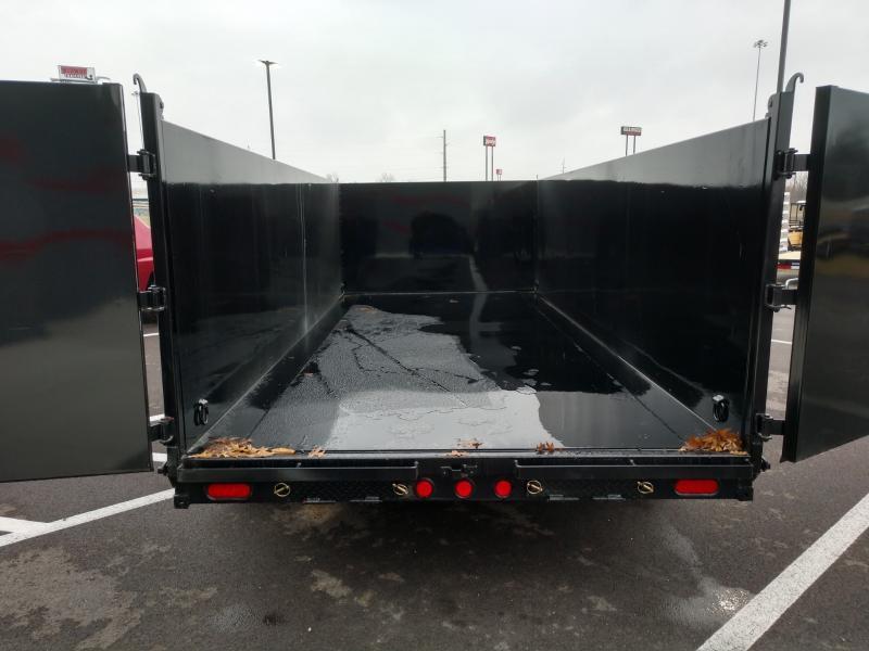 2020 Pj Trailers 7'x16' Gn Low Pro Dump High Side 14k