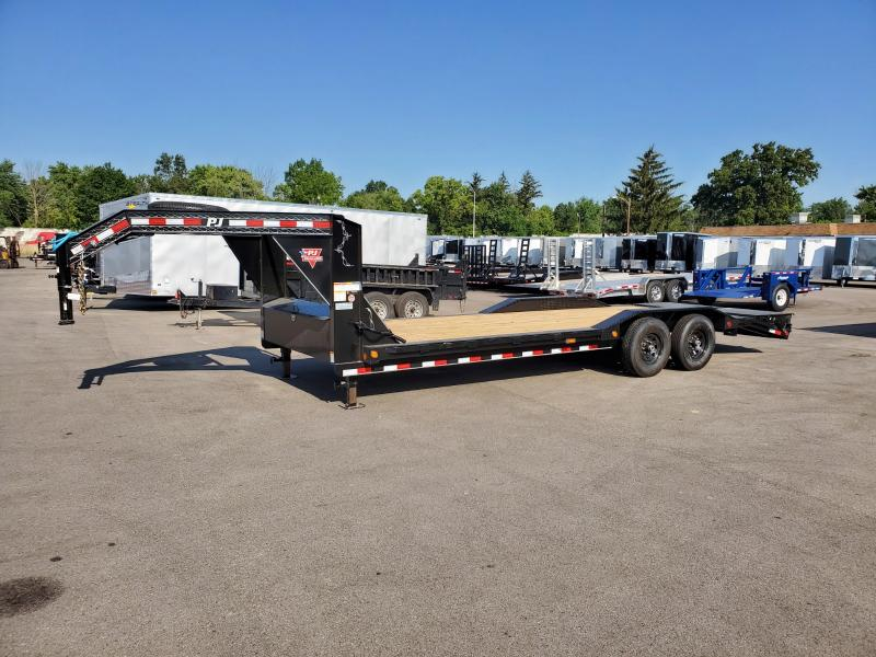 2020 Pj Trailers 7'x24' Super Wide Imp. Gn 16k