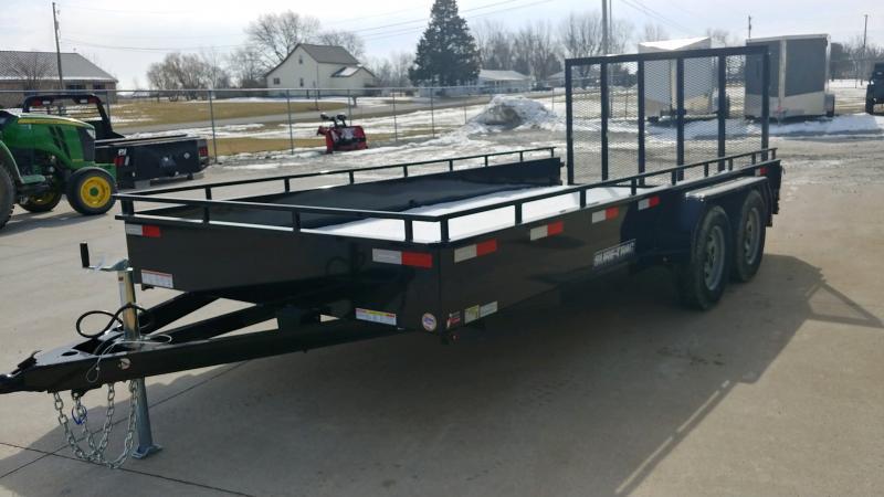 2020 Sure-trac 7x16 Steel High Side 7k