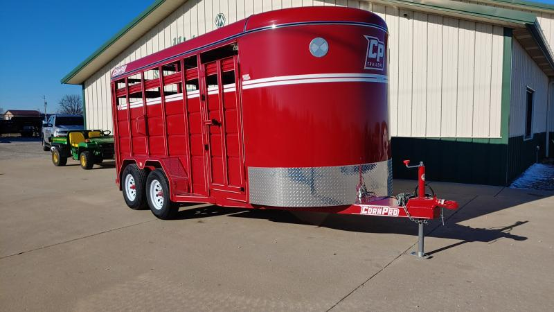2020 Corn Pro 6x16 Livestock 7k Red