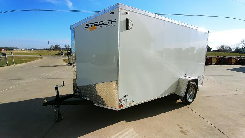 2020 Stealth 6x12 Titan 3k White