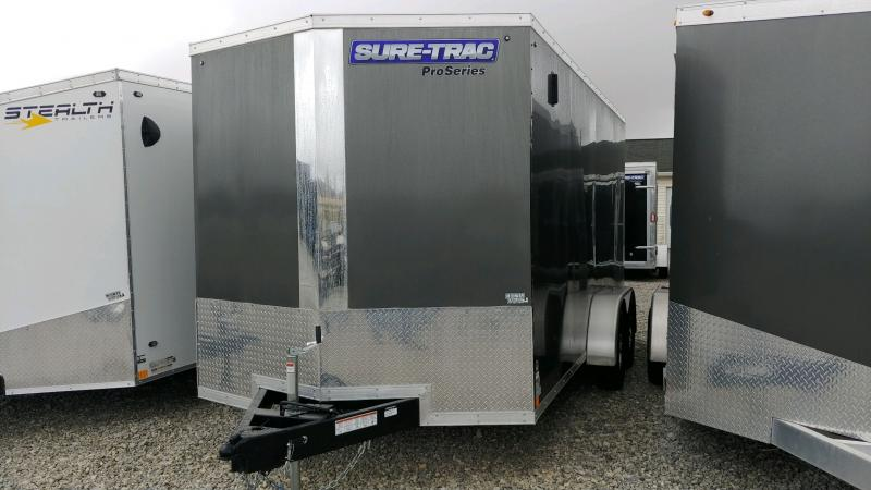 2019 Sure-trac 7x16 Psw 7k Charcoal