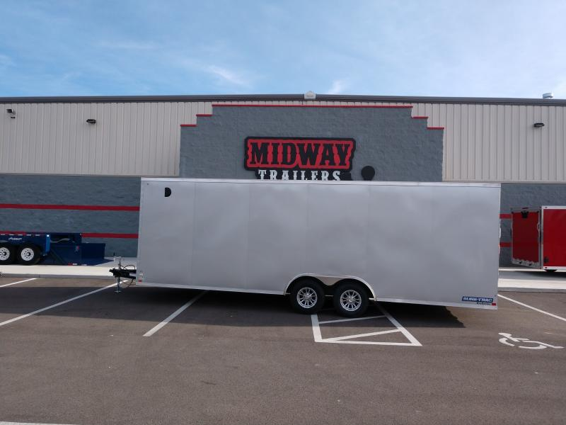 "2020 Sure-trac 8.5'x24'+6"" Silver Car Hauler 10k"
