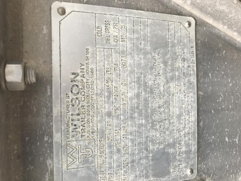 1997 Wilson 41x96x66 Ag
