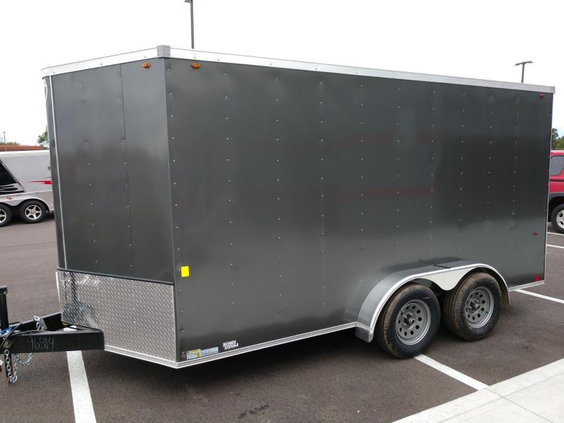 2020 Interstate 7'x14' Enclosed 7k Charcoal
