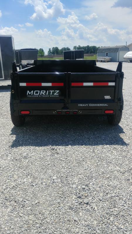 2019 Moritz 6x10 Dump 10k Single Ram