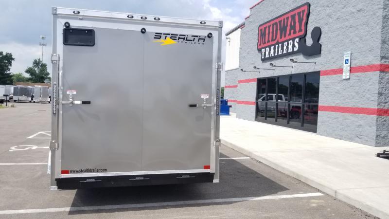 2020 Stealth 7x16 Titan 7k Pewter