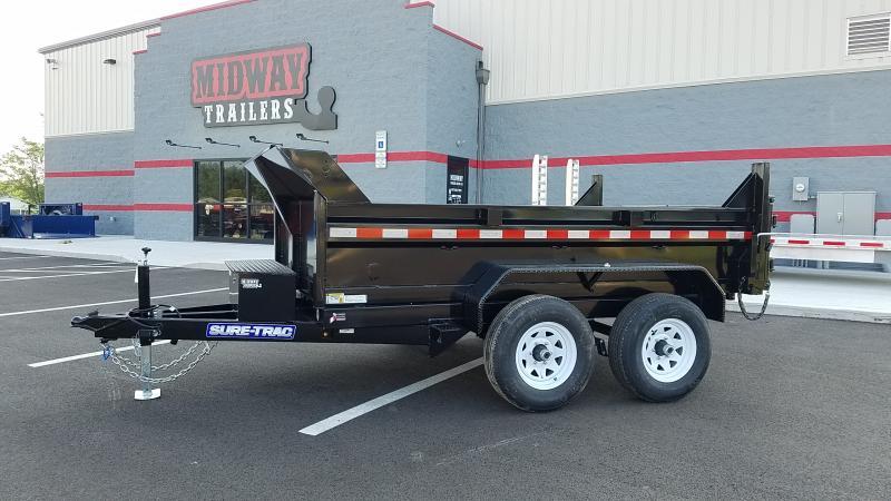 2020 Sure-trac 6'x10' Lowpro Dump 10k Single Ram