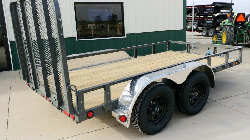 2020 Pj Trailers 6x12 7k Grey