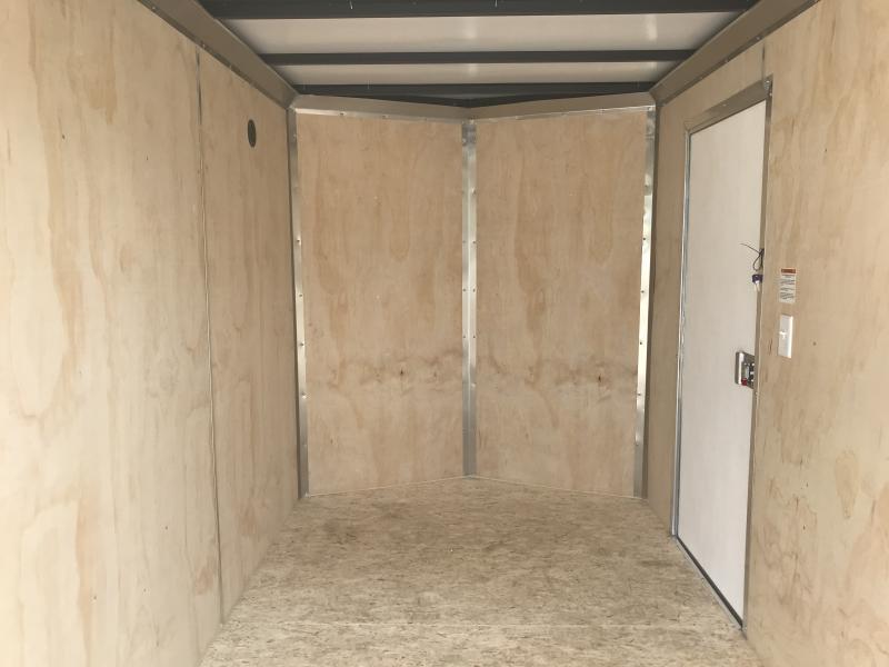 2019 Sure-trac 6x12 Psw 3k Black Barn Door