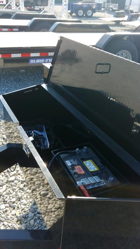 2019 Sure-trac 7x20 Imp 14k Upg+winch
