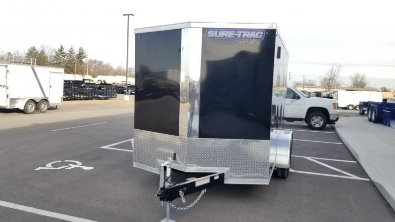 2019 Sure-trac 7'x12' Black 7k