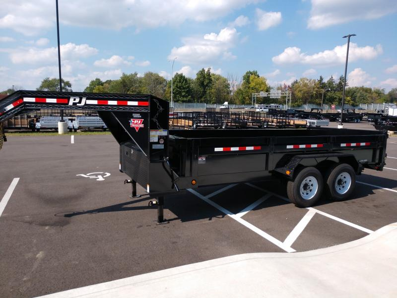 2020 Pj Trailers 7'x16' Gn Low Pro Side 14k