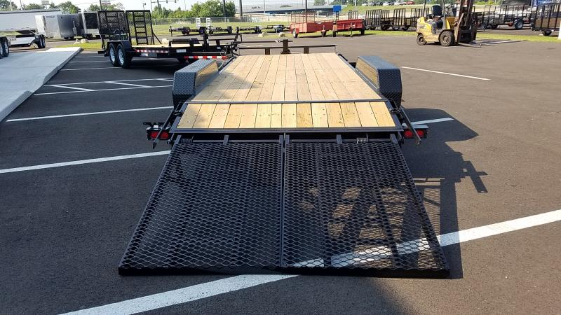 2020 Sure-trac 7'x18' Implement 14k Full Width Ramps