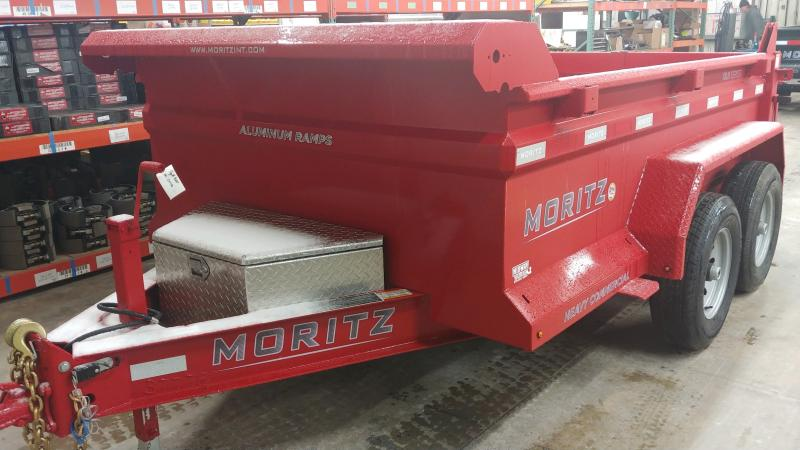 2020 Moritz 6x10 Dump 10k Red Single Ram