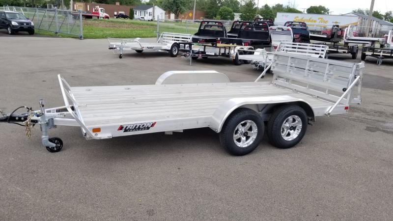 2020 Triton 7'x14' Alum 7k Wood Deck