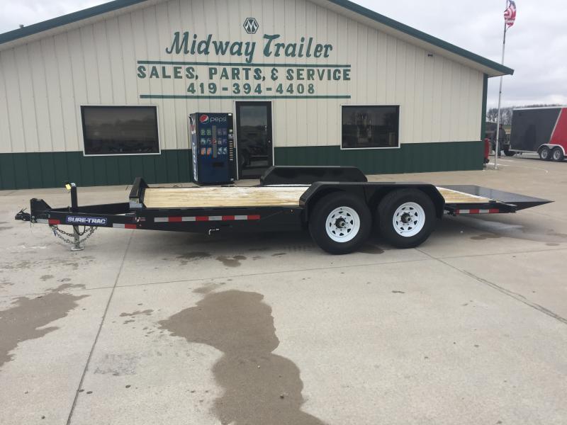 2020 Sure-trac 7'x18' Tilt Bed Equipment 14k