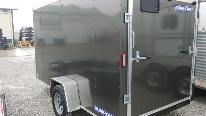 2020 Sure-trac 6x12 Enclosed 3k Charcoal