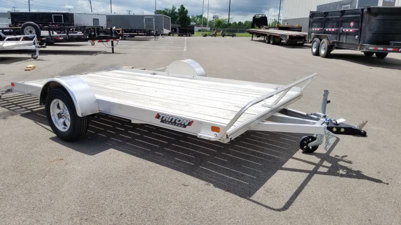 2020 Triton 7'x12' Alum 3k Wooddeck