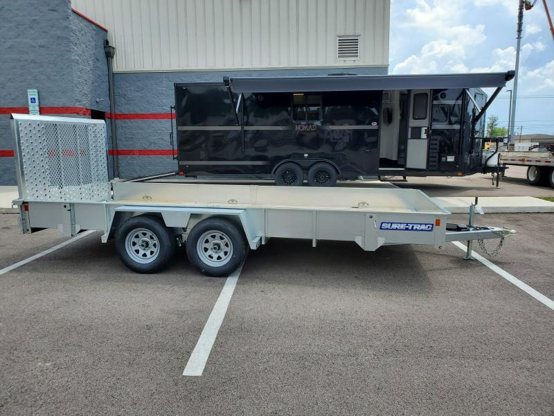 2019 Sure-trac 7'x16' Galvanized 7k