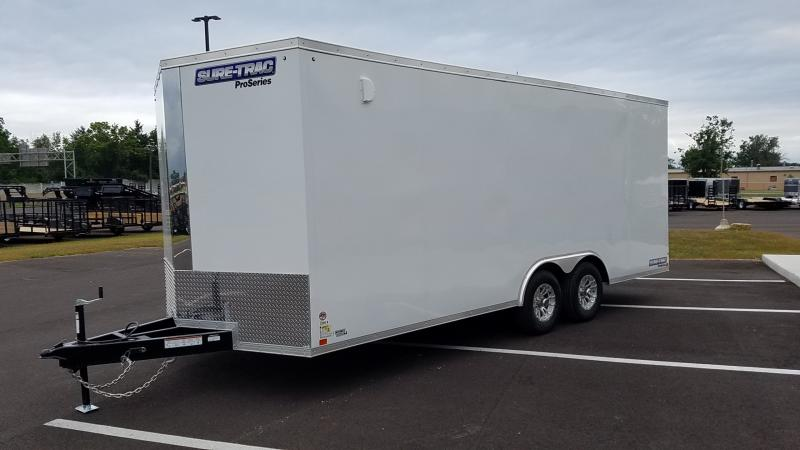 2020 Sure-trac 8.5'x20' C. Hauler Enclosed 10k