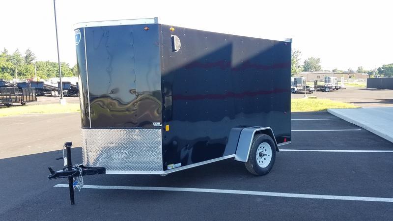 2020 Interstate 6'x10' Enclosed Black