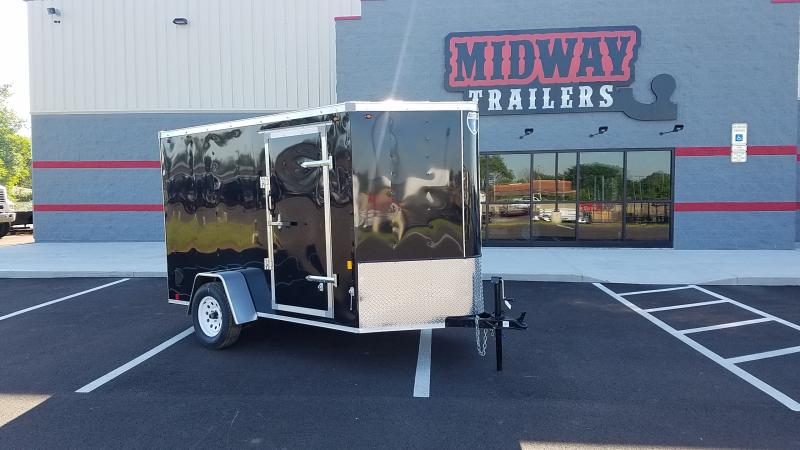 2020 Interstate 6'x10' Enclosed Black