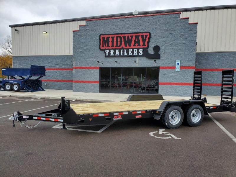 2020 B-b Trailers 7'x18'+2 Equipment 14k