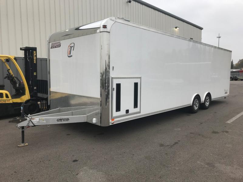 2018 Intech 8.5'x28' Alum Enclosed 10k