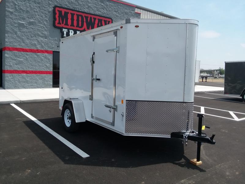2020 Interstate 6'x10' Enclosed White 3k