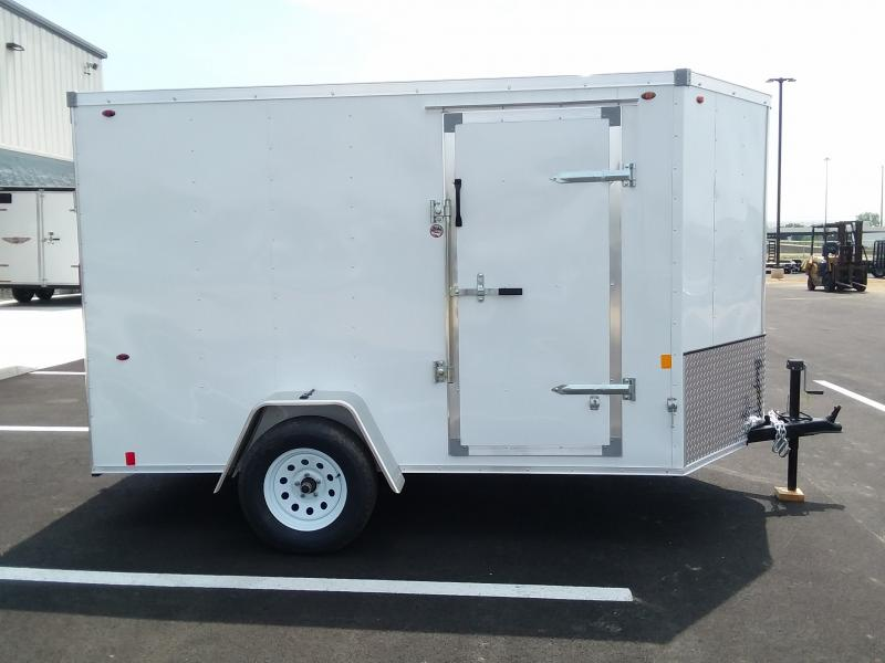 2020 Interstate 6'x10' Enclosed White