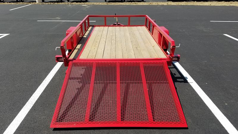 2020 Sure-trac 6x10 Tube Top 3k Red