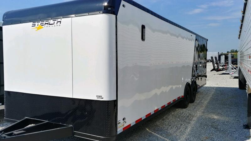 2020 Stealth 8.5x28 Bullnose Titan 12k White/black Bo