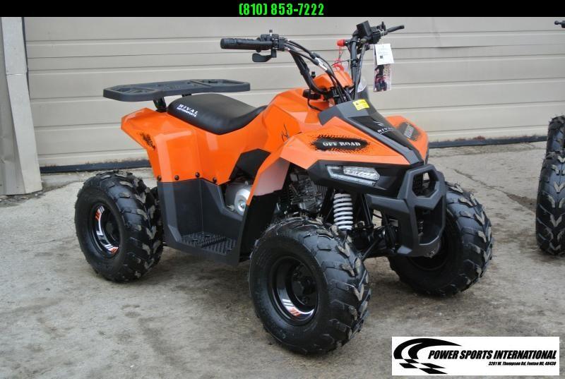 2020 MUDHAWK 6 YOUTH ATV 4-Stroke Automatic Four Wheeler ORANGE #0122