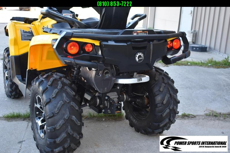 2016 CAN-AM OUTLANDER MAX 570 XT 2-Passenger 4X4 ATV w/ Extras  #0190