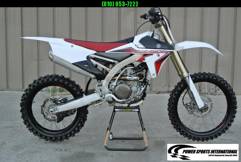2015 Yamaha YZ450F Motorcycle MX Motocross Team Edition #1399