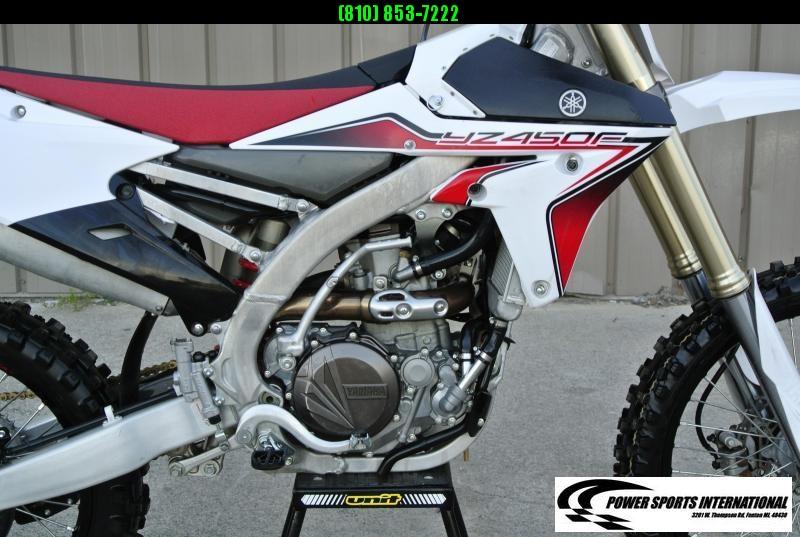 2015 Yamaha YZ450F Motorcycle MX Motocross Team Edition #1399