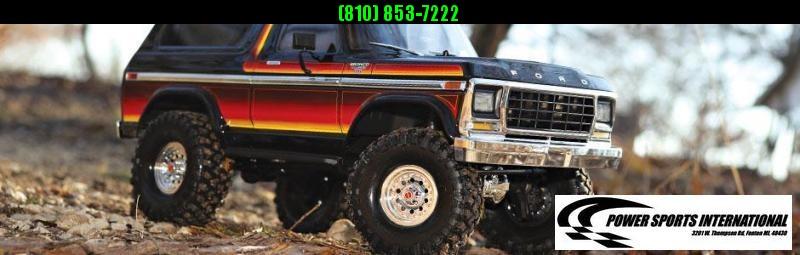TRAXXAS TRAXXIS TRX-4 FORD BRONCO BODY RED Model #82046-4 #TRX00005