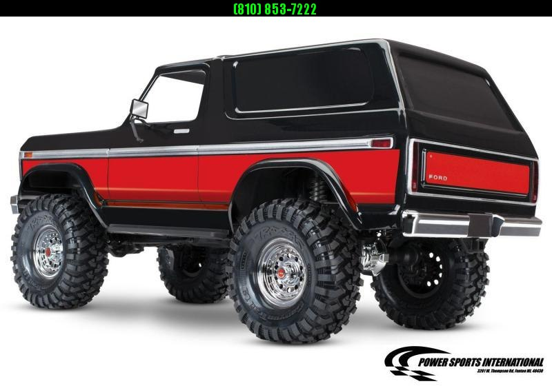 TRAXXAS TRAXXIS TRX-4 FORD BRONCO BODY RED Model #82046-4 #TRX00005