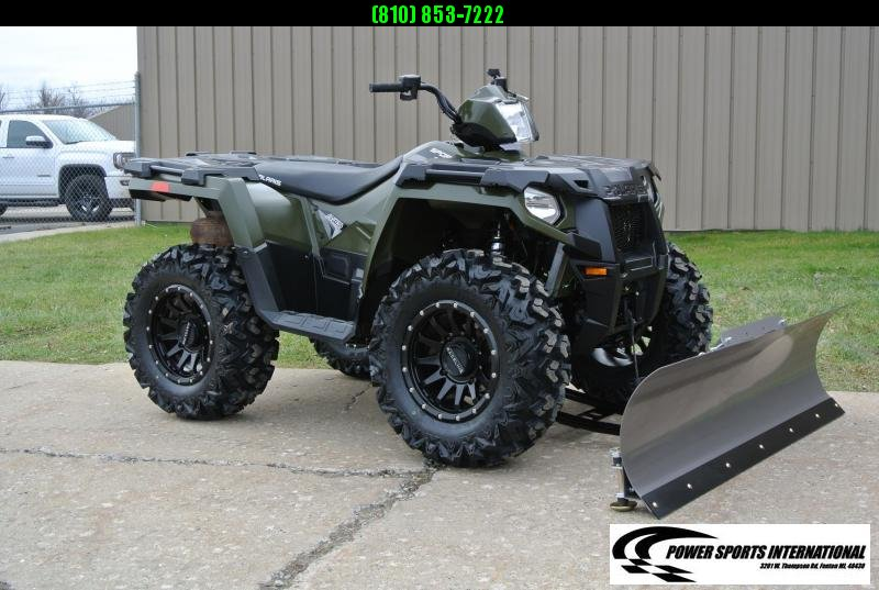 2017 POLARIS SPORTSMAN 570 EFI 4X4 ATV HUNTER GREEN #4914