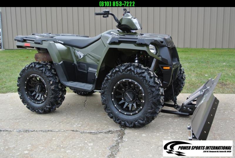 2017 POLARIS SPORTSMAN 570 EFI 4X4 ATV HUNTER GREEN #4914