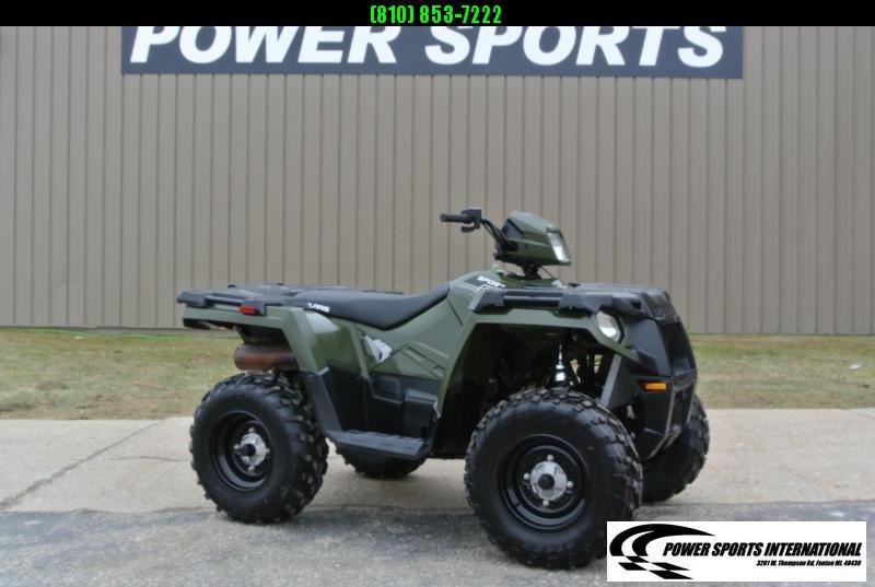 2019 POLARIS SPORTSMAN 570 EFI 4X4 ATV HUNTER GREEN #6814
