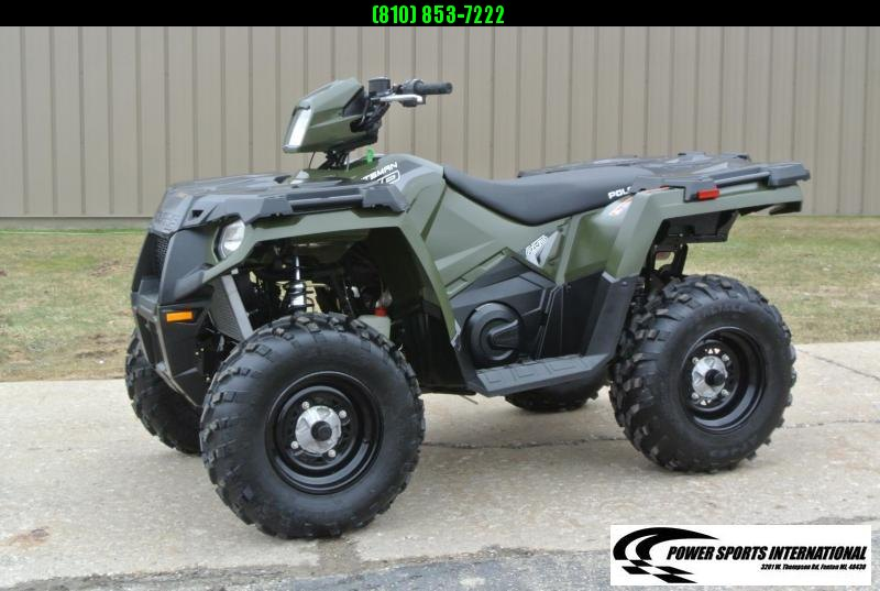 2019 POLARIS SPORTSMAN 570 EFI 4X4 ATV HUNTER GREEN #6814