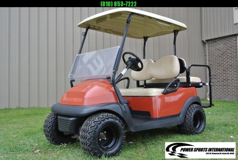 2015 CUSTOM Club Car Precedent EFI Fuel Injected GAS Golf Cart #9036