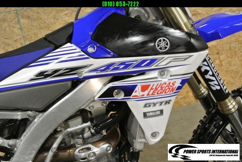 2016 Yamaha YZ450F Motorcycle MX Motocross Team Edition #3591