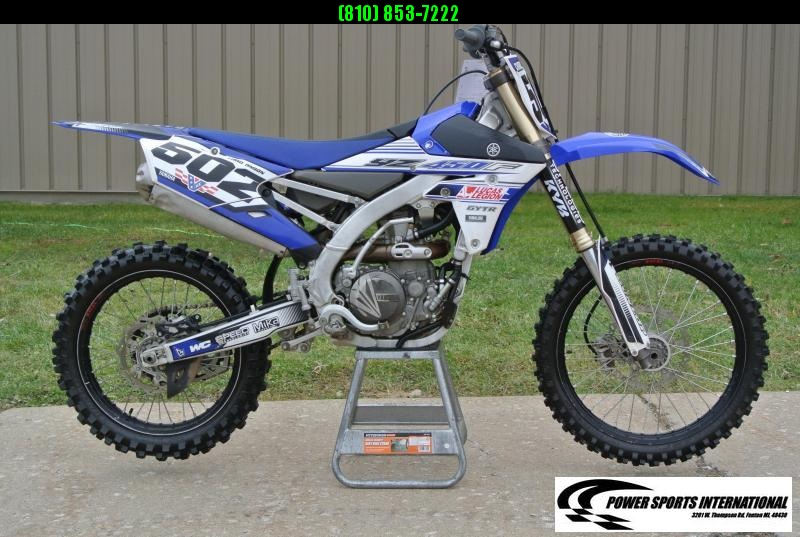 2016 Yamaha YZ450F Motorcycle MX Motocross Team Edition #3591