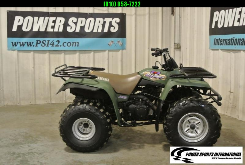 1996 YAMAHA YFM350UH BIG BEAR 2WD UTILITY ATV #9585