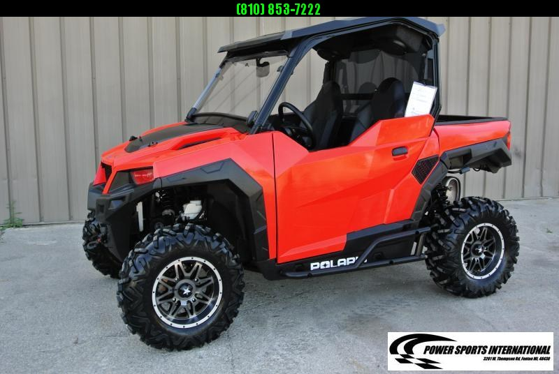2017 Polaris General 1000 EPS Red Sport Utility Side-by-Side #7799